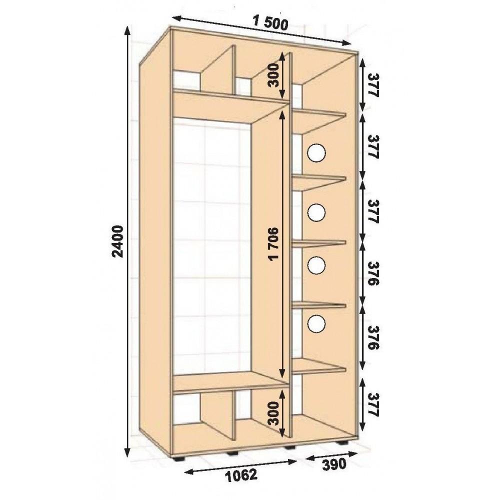 ШК-15 (1.5х0.6х2.4)