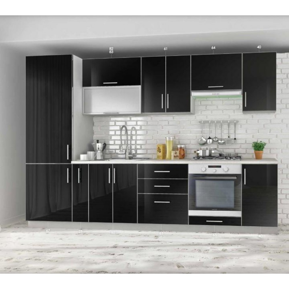 Кухня Mirror Gloss 3.0