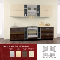Кухня High Gloss 2.6